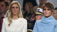 Melania and Ivanka Trump aren't friends, says new book