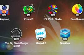 Daily Deals for February 12, 2013, featuring the SuperStacked Mac Bundle 2.0