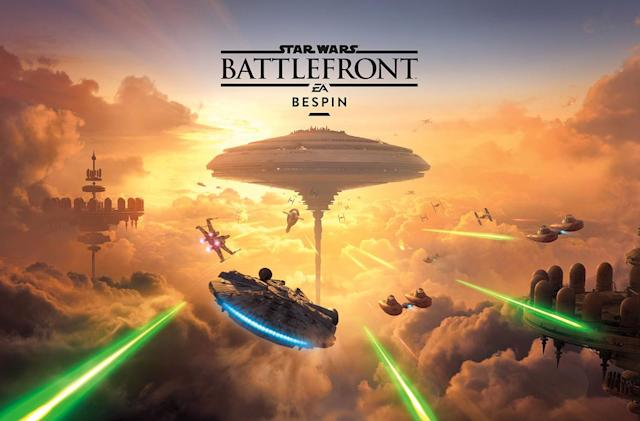 'Star Wars: Battlefront' gets Lando and Cloud City on June 21st