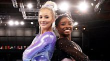 Simone Biles Congratulates MyKayla Skinner on Winning Silver After Stepping in for Her: 'Proud of You'