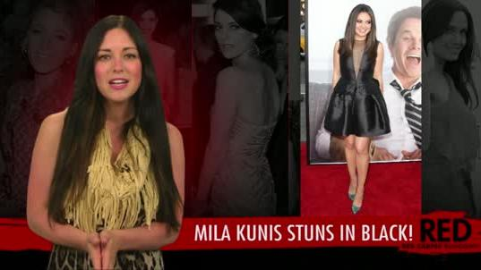 Mila Kunis Sexy at the Ted Red Carpet Premiere in Los Angeles!