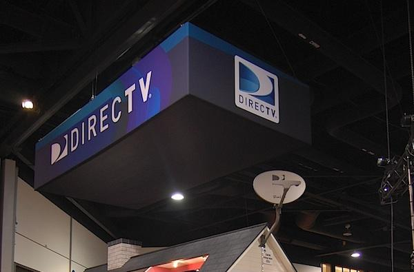 DirecTV's CEDIA booth was all about multi-room viewing