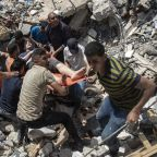 Israeli strikes kill 33, topple buildings in Gaza City