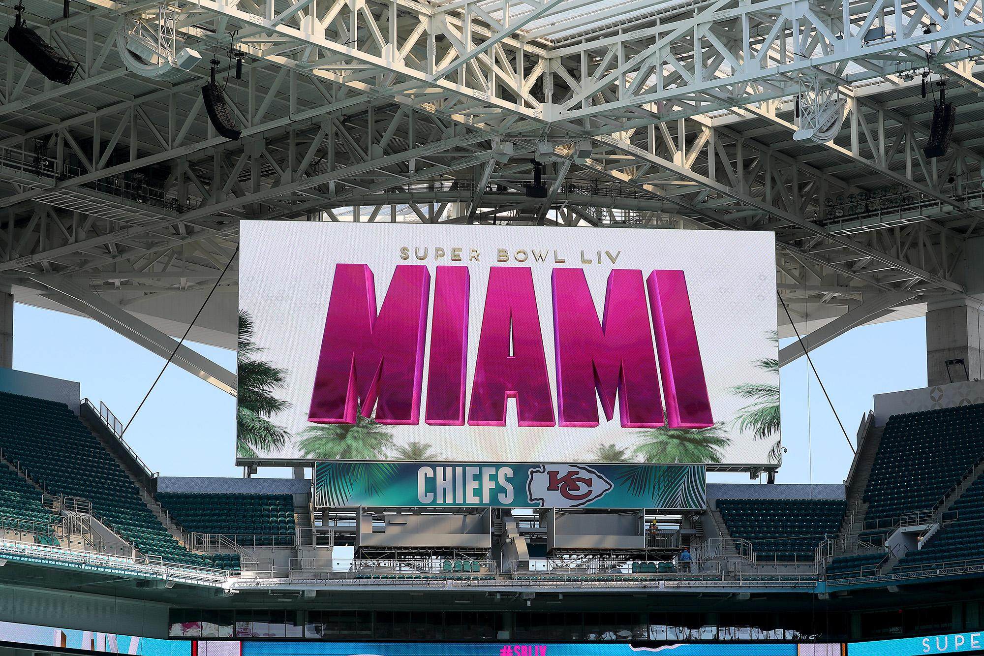 Super Bowl LIV tickets pacing for most expensive average price in NFL history