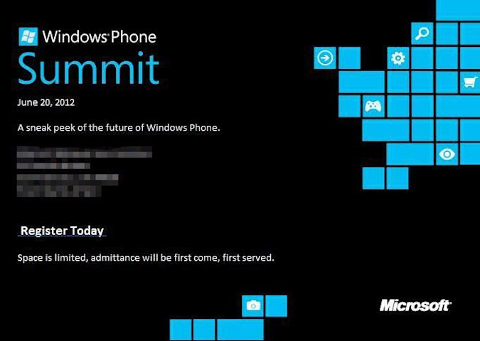 Microsoft to offer Windows Phone Apollo 'sneak peek' on June 20th, we'll be there