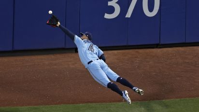Springer places bid for Catch of the Year candidate