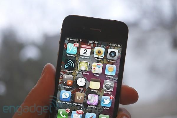 Verizon iPhone review