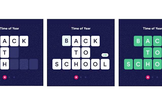 The sequel to HQ Trivia is a Wheel of Fortune-style word game