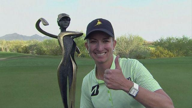 Karrie Webb wins JTBC Founders Cup with course record