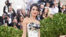 Amal Clooney Breaks Her Own Number-One Beauty Rule at the 2018 Met Gala