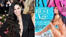 Demi Moore, 56 ans, a posé nue en couverture d'un magazine pour la première fois en 30 ans