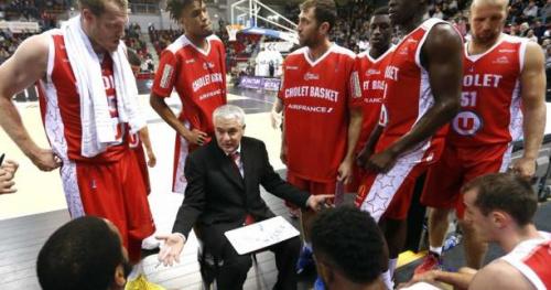Basket - ProA - Cholet - M.J. Rhett disputera la fin de la saison avec Cholet