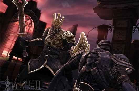 Infinity Blade 2 updated for iPad 3, new content teased for next month