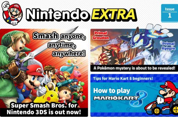 Nintendo UK launches digital magazine, Nintendo Extra