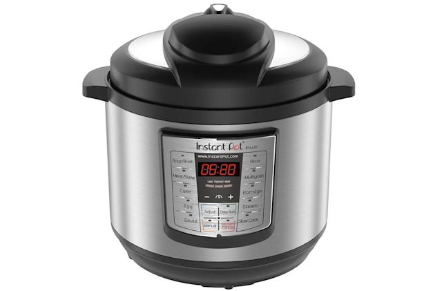 The popular 8-quart Instant Pot Lux is at its lowest price ever