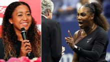 Osaka's classy response to tricky Serena question