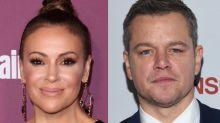 Alyssa Milano kritisiert Matt Damon wegen seines Kommentars zu Missbrauchsskandal