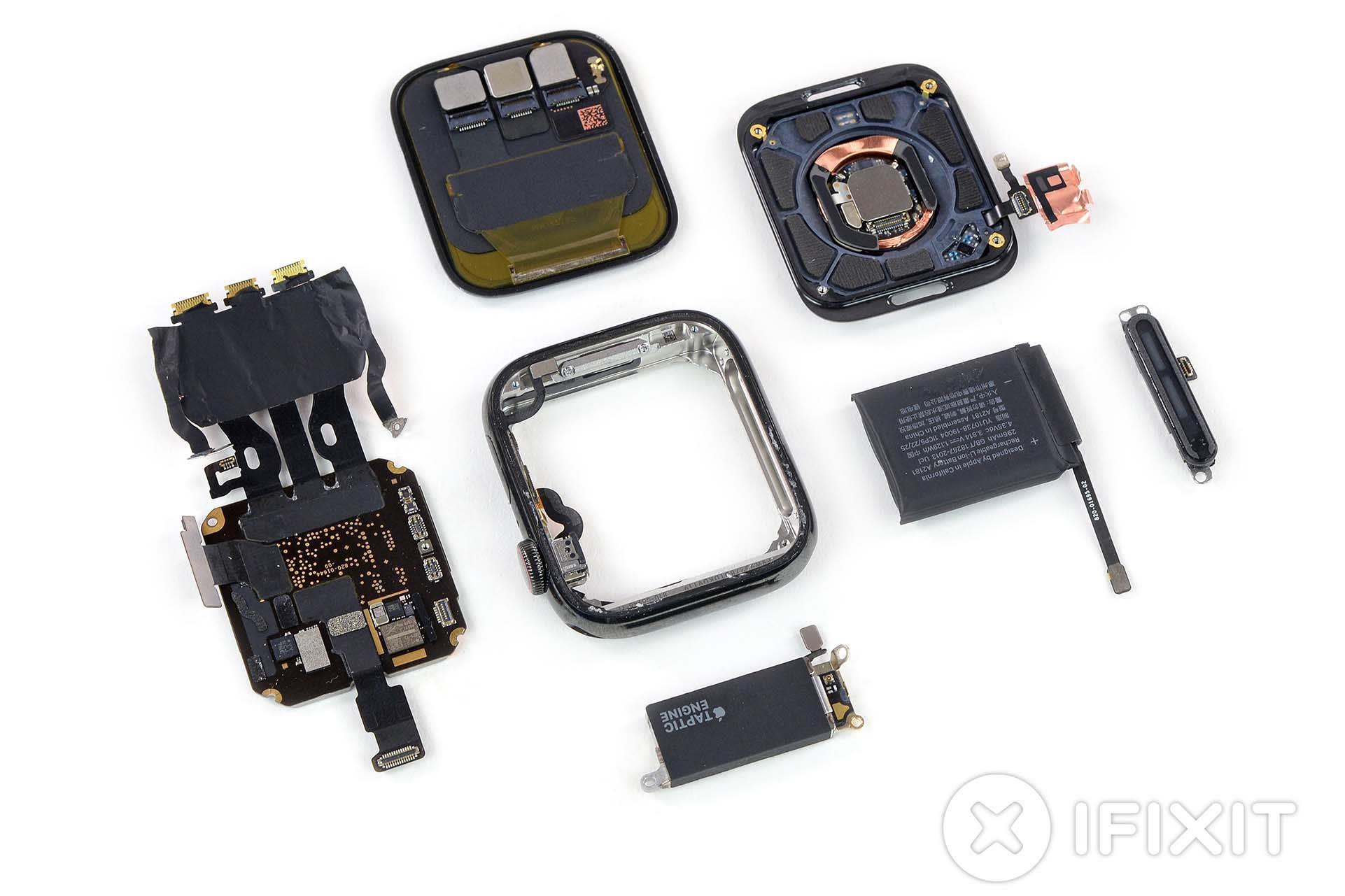 iFixitがApple Watch Series 5を分解。Series 4とほぼ同じながら細かな変更 - Engadget 日本版