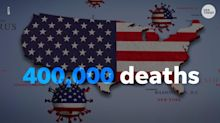 'Blood on his hands': As US nears 400,000 COVID-19 deaths, experts blame Trump administration for a 'preventable' loss of life