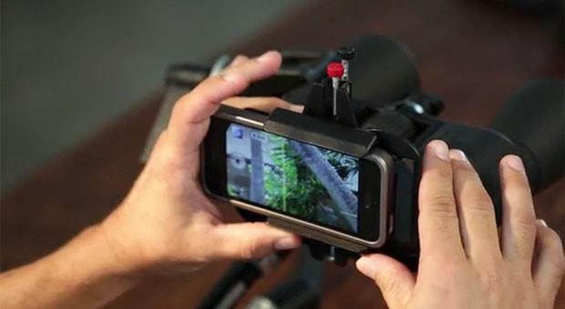 Insert Coin: Snapzoom gives Kickstarters a crack at its smartphone scope adapter (video)