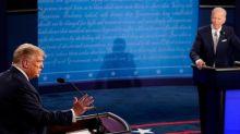 """Présidentielle américaine: Biden """"respectera"""" le résultat du scrutin, Trump esquive"""