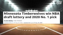 Which prospects are Timberwolves considering with No. 1 pick in NBA draft?