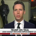 Sen. Josh Hawley says much of House impeachment managers' case hinges on Hunter and Joe Biden