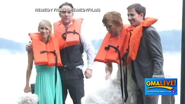 Bride: Wedding 'Not Ruined' After Bridal Party Fell in Lake