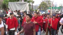 Máxima tensión en Ecuador ante gran protesta contra presidente Moreno