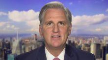Leader McCarthy calls Pelosi's reaction to Trump coronavirus diagnosis 'disgusting'