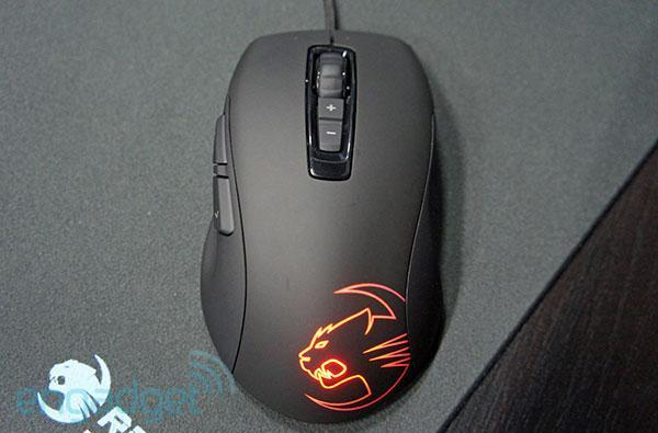 ROCCAT's new Kone Pure mouse streamlines things, while ISKU FX keyboard adds some color (hands-on)