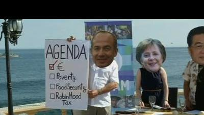 Protest over G20 priorities