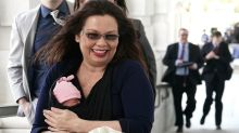 'It's about time': Sen. Tammy Duckworth makes history by bringing her newborn child onto the Senate floor