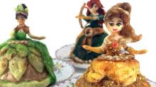 Disney-Prinzessinnen gibt es jetzt auch in Kuchen-Form