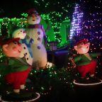 Extravagant Christmas Light Display