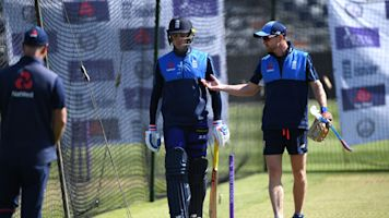 England field 42-year-old coach Paul Collingwood after injury scares