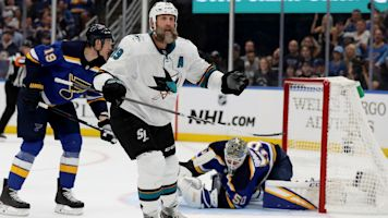 NHL Playoffs 2019: Joe Thornton says he hasn't thought about his future