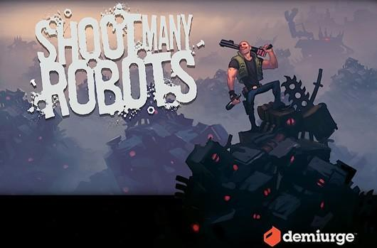 Shoot Many Robots preview: What it says on the tin