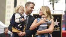 Blake Lively Says Ryan Reynolds's Hilarious Dad Tweets Are Fake