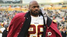 Washington release veteran RB Adrian Peterson