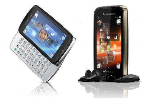 Sony Ericsson introduces Mix Walkman and txt pro feature phones, available in Q3
