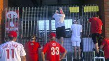 Take me outside the ballgame: Phandemic Krew cheers Phillies