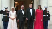 President Trump refers to Charles as 'Prince of Whales,' Twitter mocking ensues