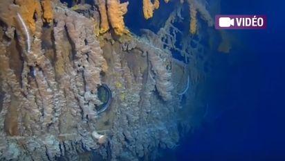 Les images très inquiétantes de l'épave du Titanic