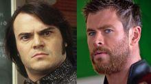 Jack Black acusa a Chris Hemsworth de plagiarle... ¡y Thor le responde!