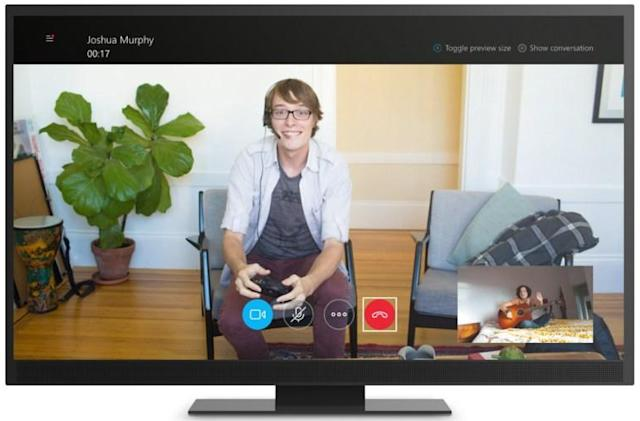 Skype's 'all-new' Windows 10 app makes the trip to Xbox One