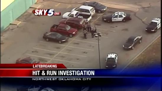 Man critically hurt in NW Oklahoma City hit-and-run
