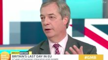 'Happy Brexit Day!': Nigel Farage says EU departure a 'victory for ordinary people against establishment'