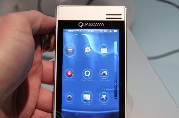 Qualcomm MSM7x30 development unit hands-on
