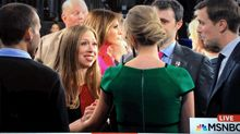 Ivanka Trump and Chelsea Clinton After the Debate